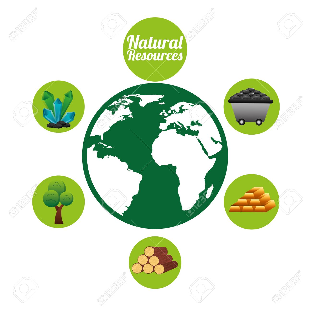 Natural Resources Design Royalty Free Cliparts, Vectors, And Stock ...
