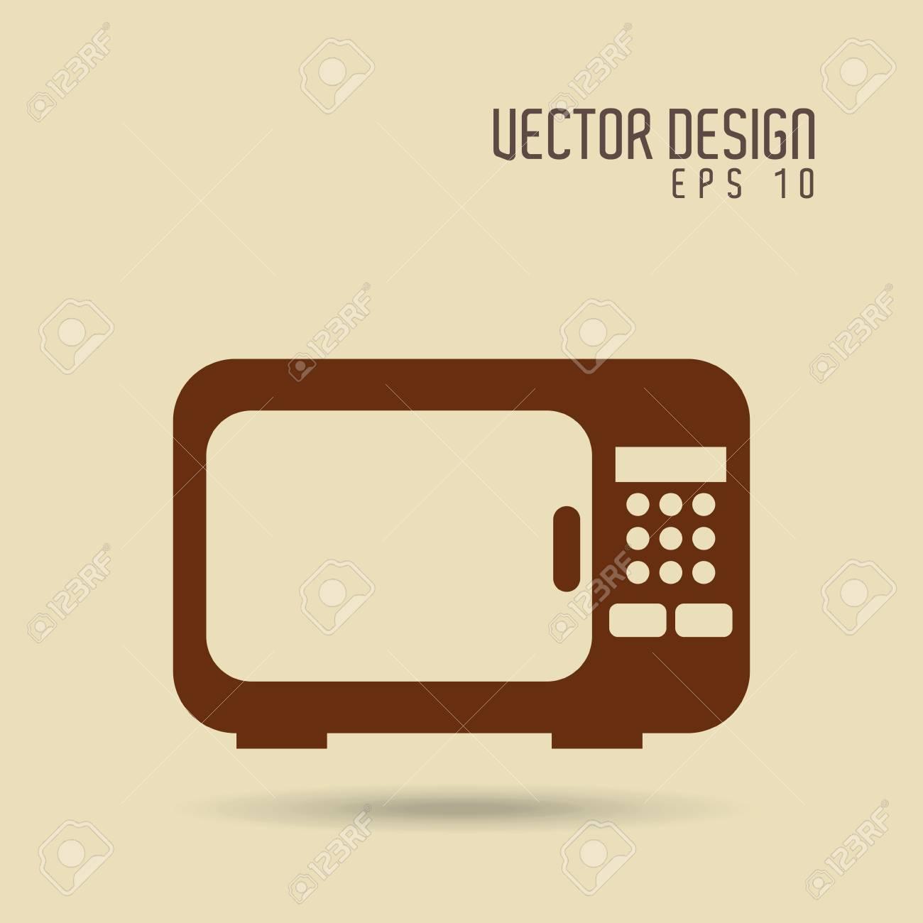 Utensilios De Cocina De Diseño, Ejemplo Gráfico Del Vector Eps10 ...