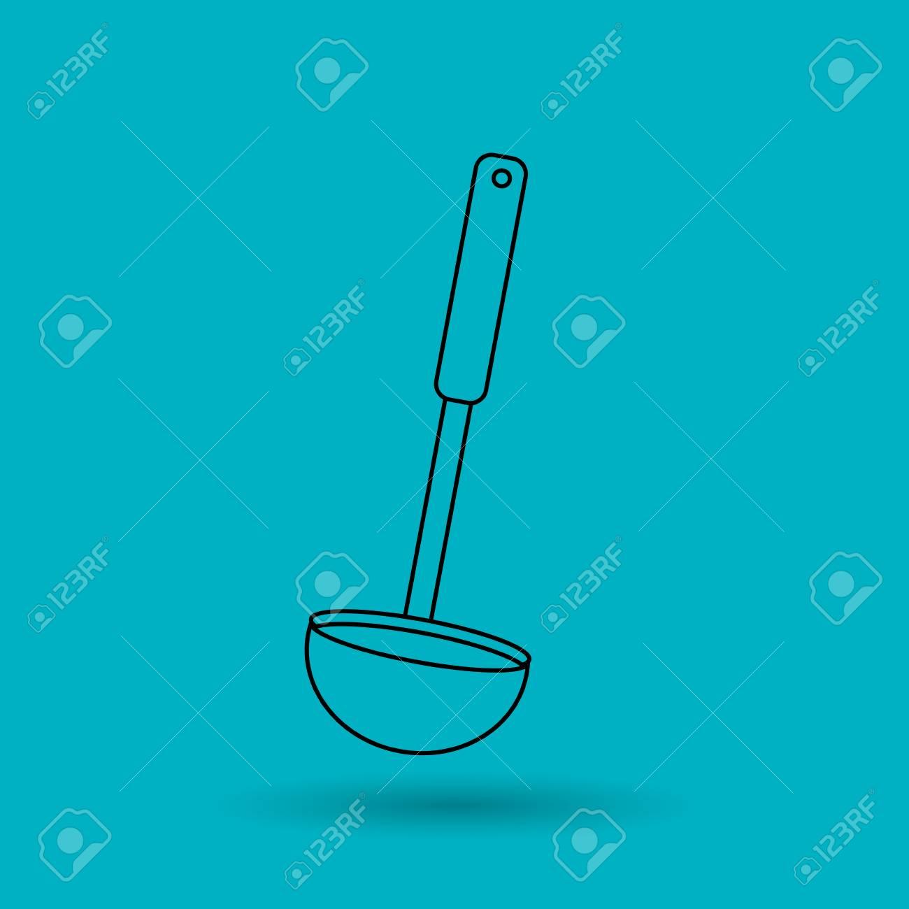 Diseño de utensilios de cocina, ilustración vectorial gráfico eps10
