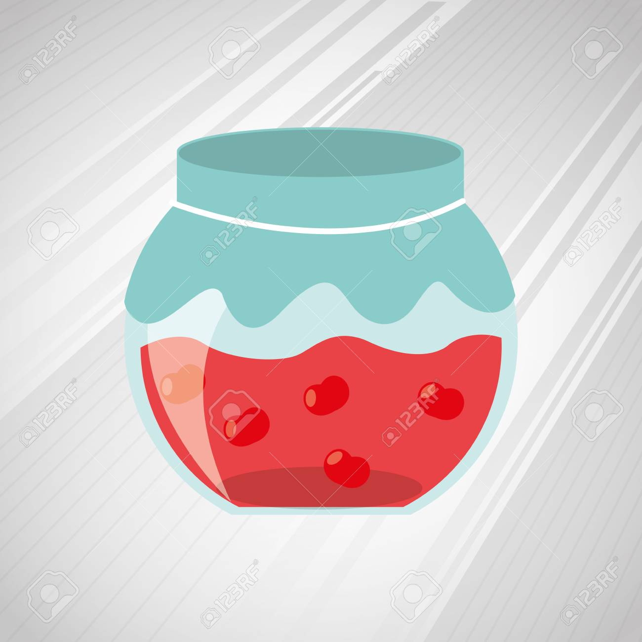 Homemade Food Design Vector Illustration Eps10 Graphic Royalty Free