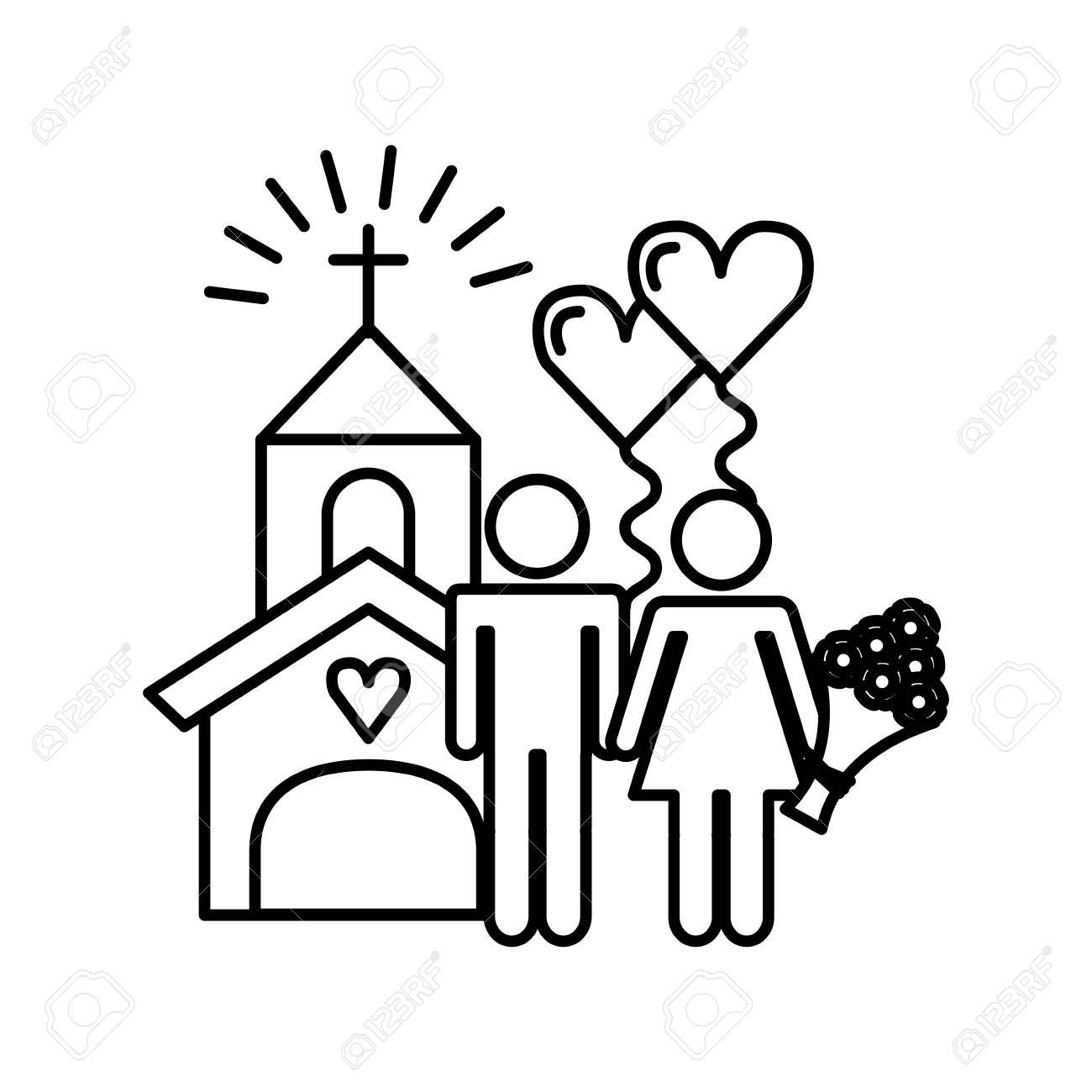 Wedding Invitation Icon Design, Vector Illustration Eps10 Graphic ...