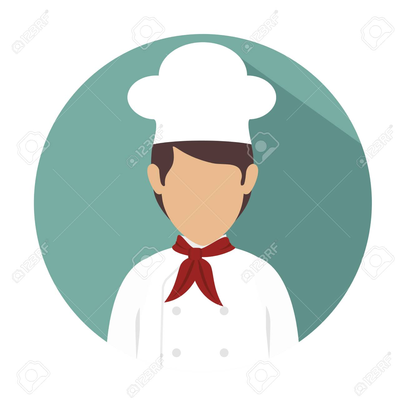 Koch Küche Design, Vektor-Illustration eps10 Grafik