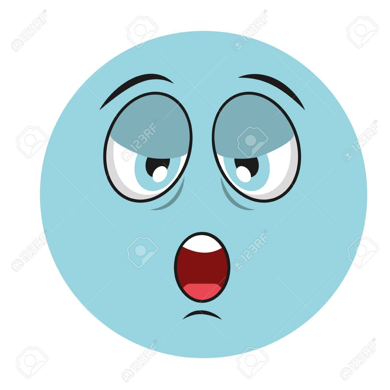 tired cartoon face icon vector illustation character royalty free rh 123rf com Hungry Face Cartoon tired face cartoon images