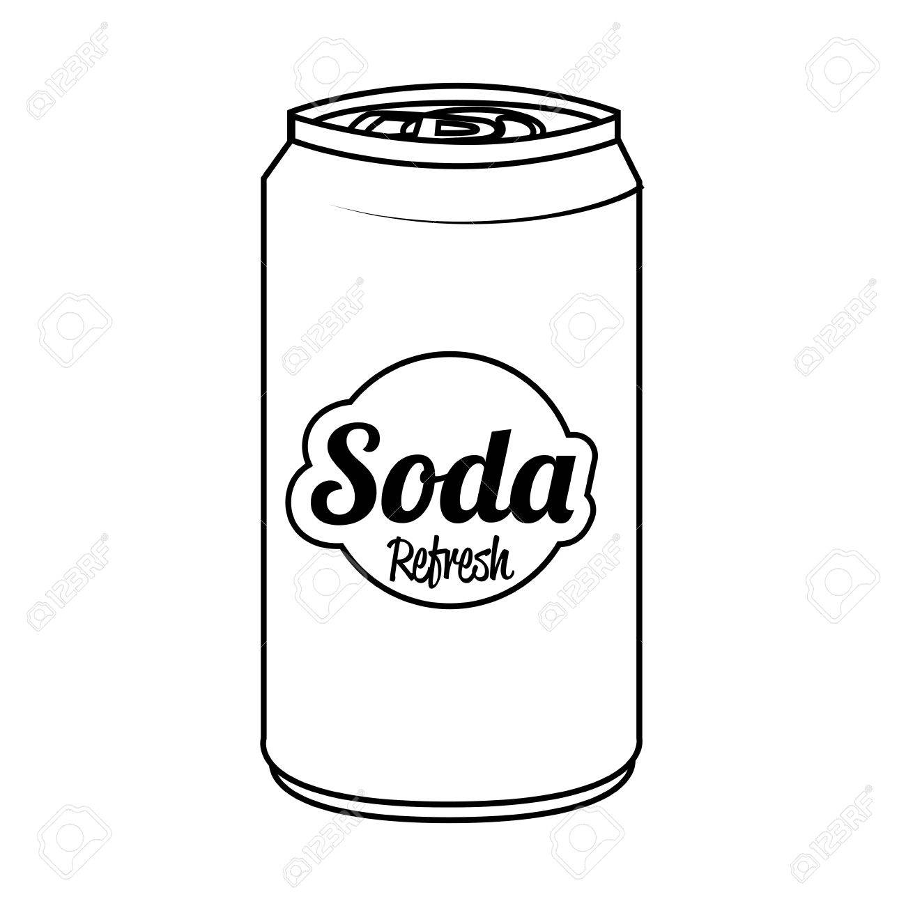 soda can isolated flat icon vector illustration graphic royalty rh 123rf com  soda can vector free download
