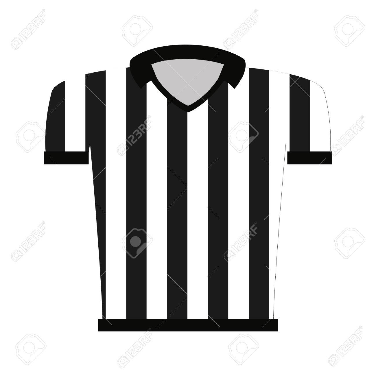 Shirt uniform design vector - Shirt Uniform Referee Icon Vector Illustration Design Stock Vector 60535724