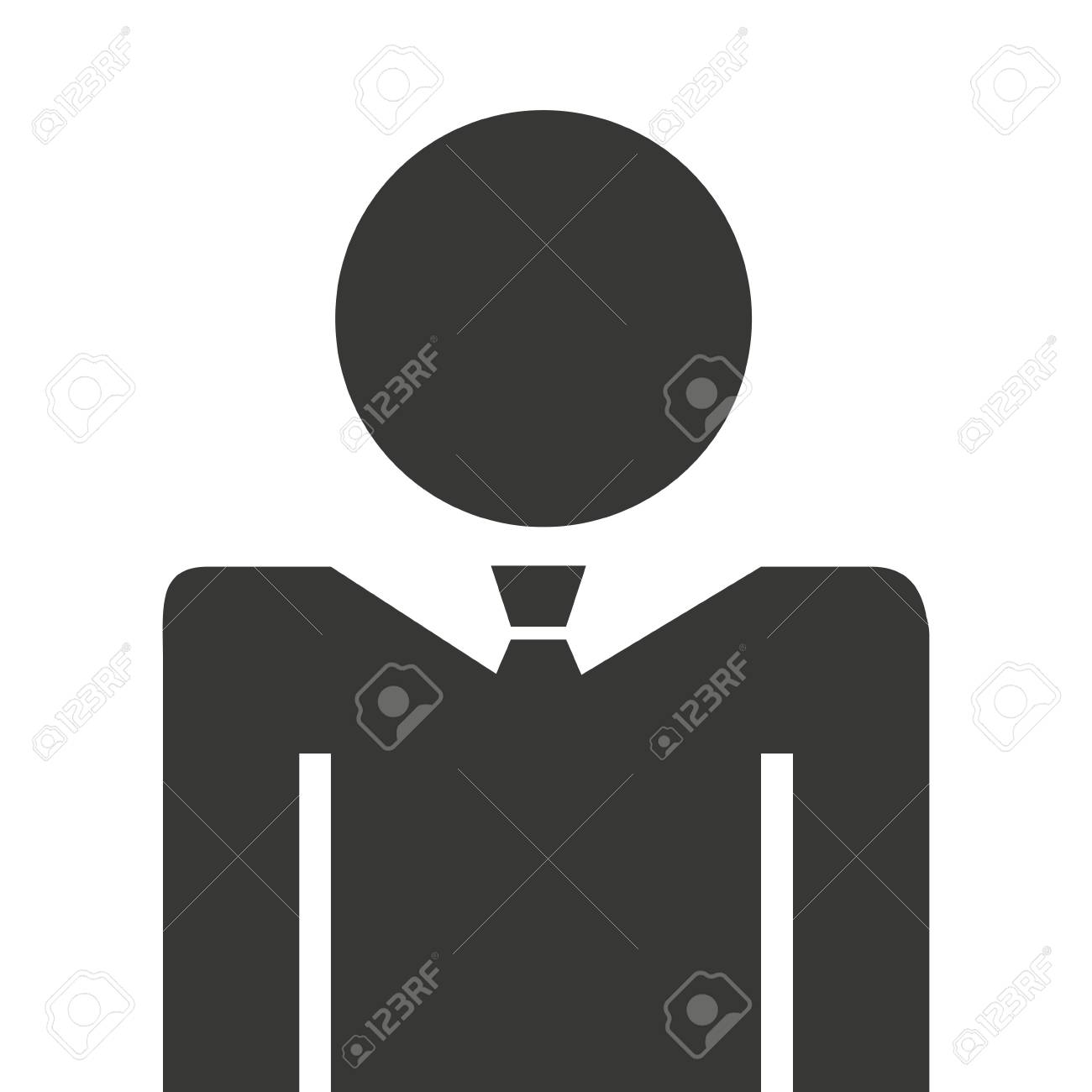 businessman silhouette isolated icon vector illustration design