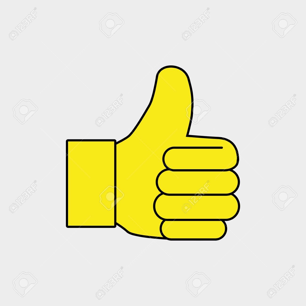 Hand Ok Thumb Finger Vector Il...