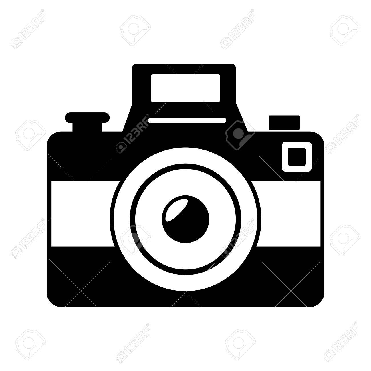 Vintage Photographic Camera Isolated Flat Icon Cartoon Royalty Free Cliparts Vectors And Stock Illustration Image 61124334