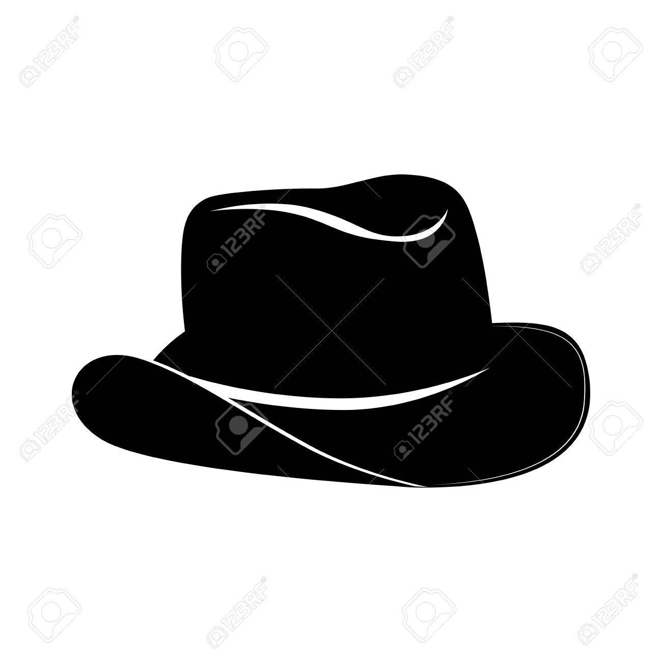 9e5e070414f3d Aislado ranchero sombrero de vaquero del oeste gráfico sheriff clásico rodeo  vector y la ilustración plana