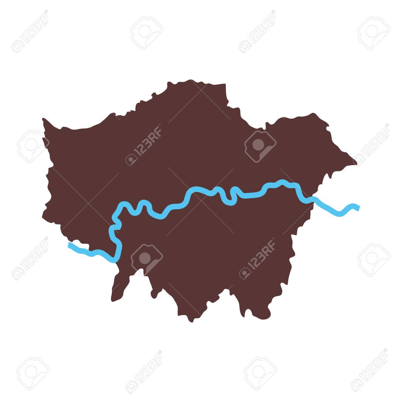 London map city area river united kingdom capital geography vector london map city area river united kingdom capital geography vector graphic isolated stock vector 61148357 gumiabroncs Choice Image