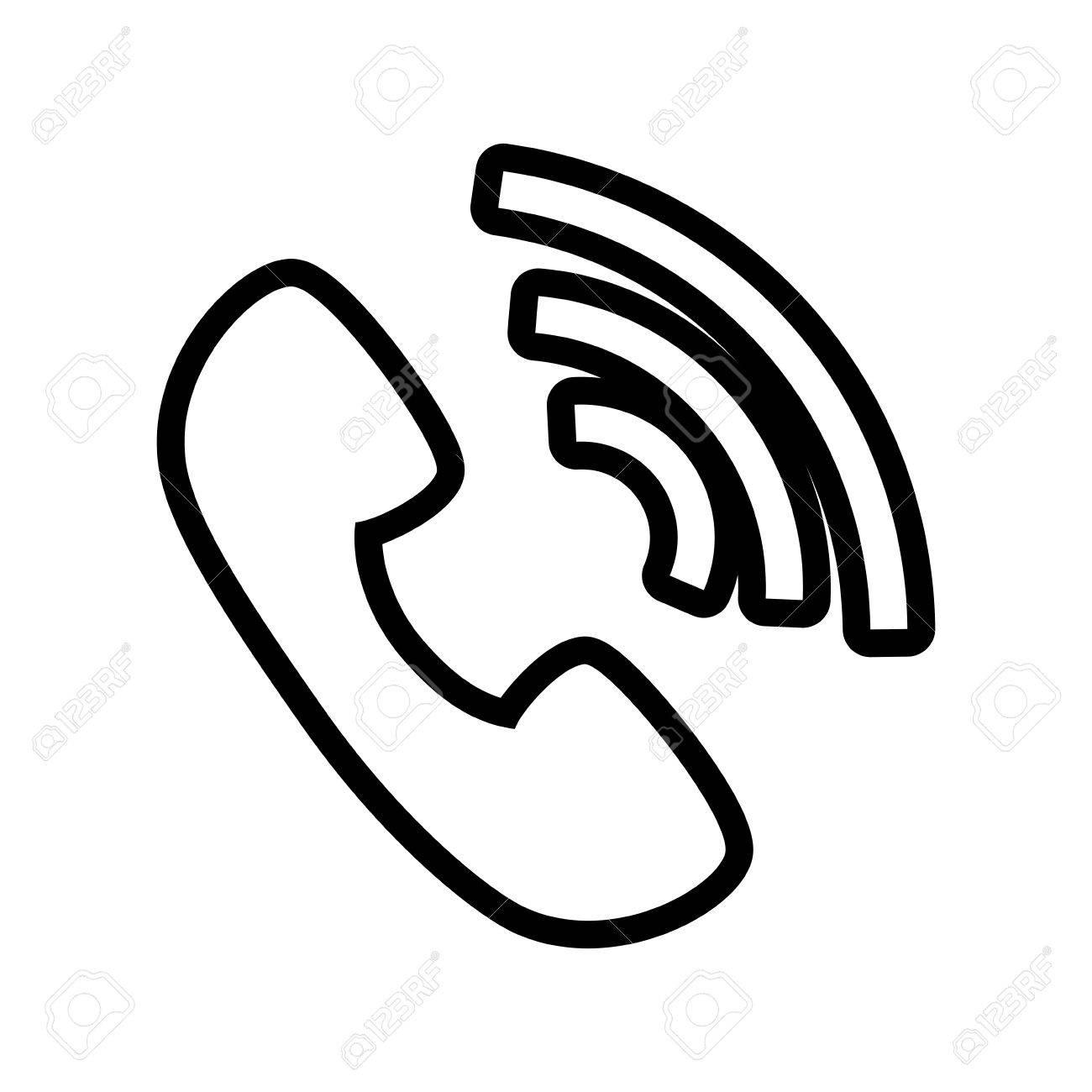Sound Loud Volume Speaker Music Wave Symbol Vector Illustration