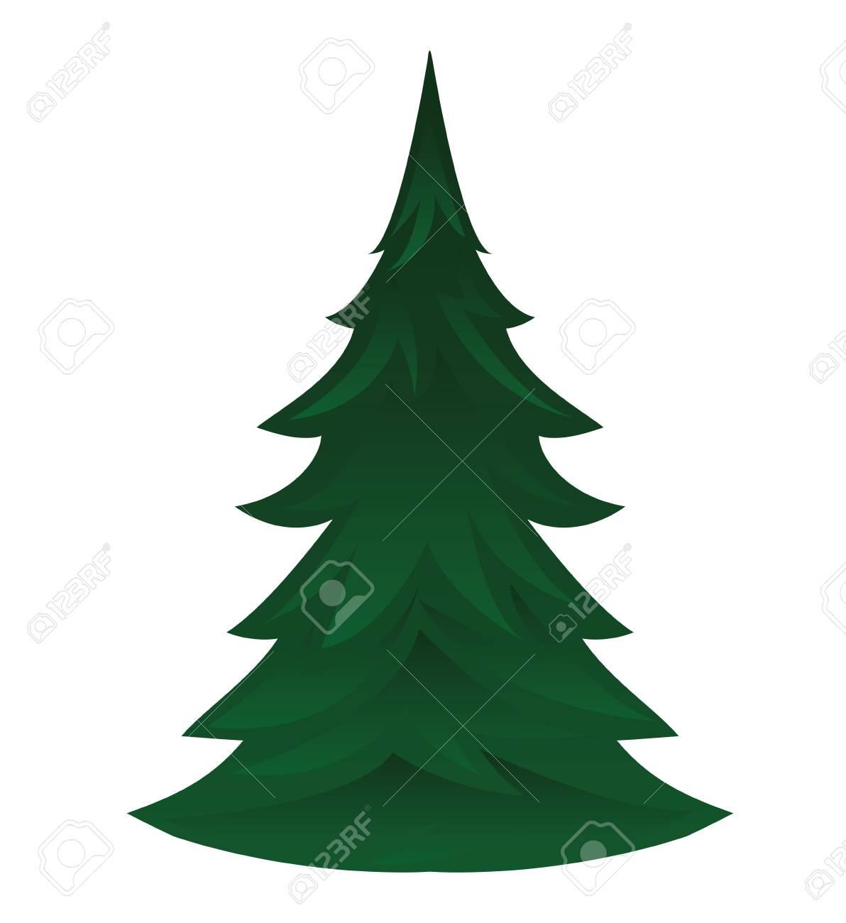 pine tree isolated icon vector illustration design - 61324691