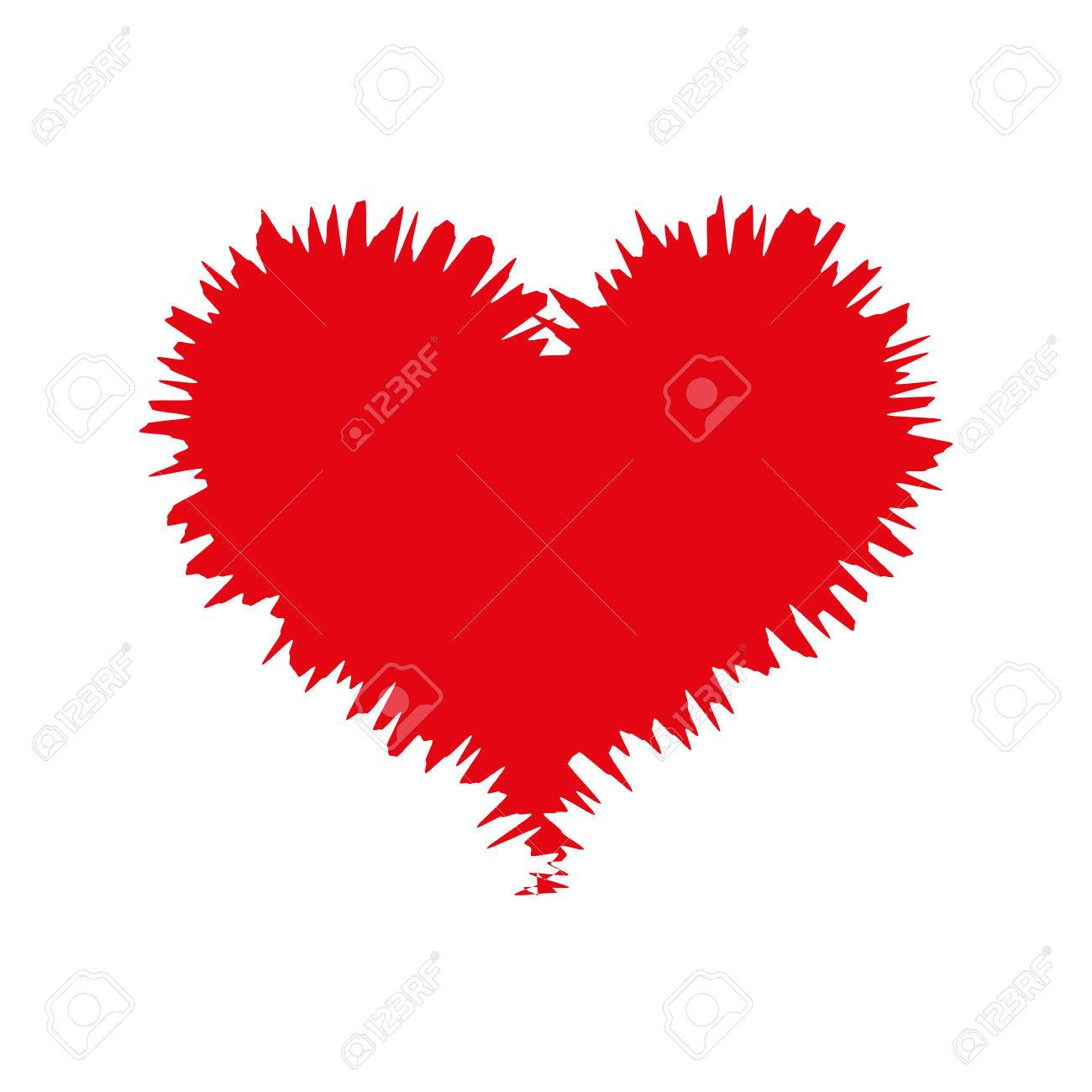 Heart Love Romance Passion Amour Red Sketch Vector Illustration Royalty Free Cliparts Vectors And Stock Illustration Image 61694400