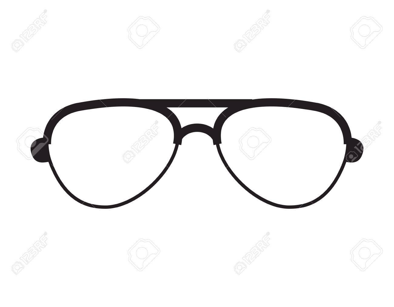 眼鏡ファッション眼鏡ヒップ スタイル アクセサリー ベクトル イラストの