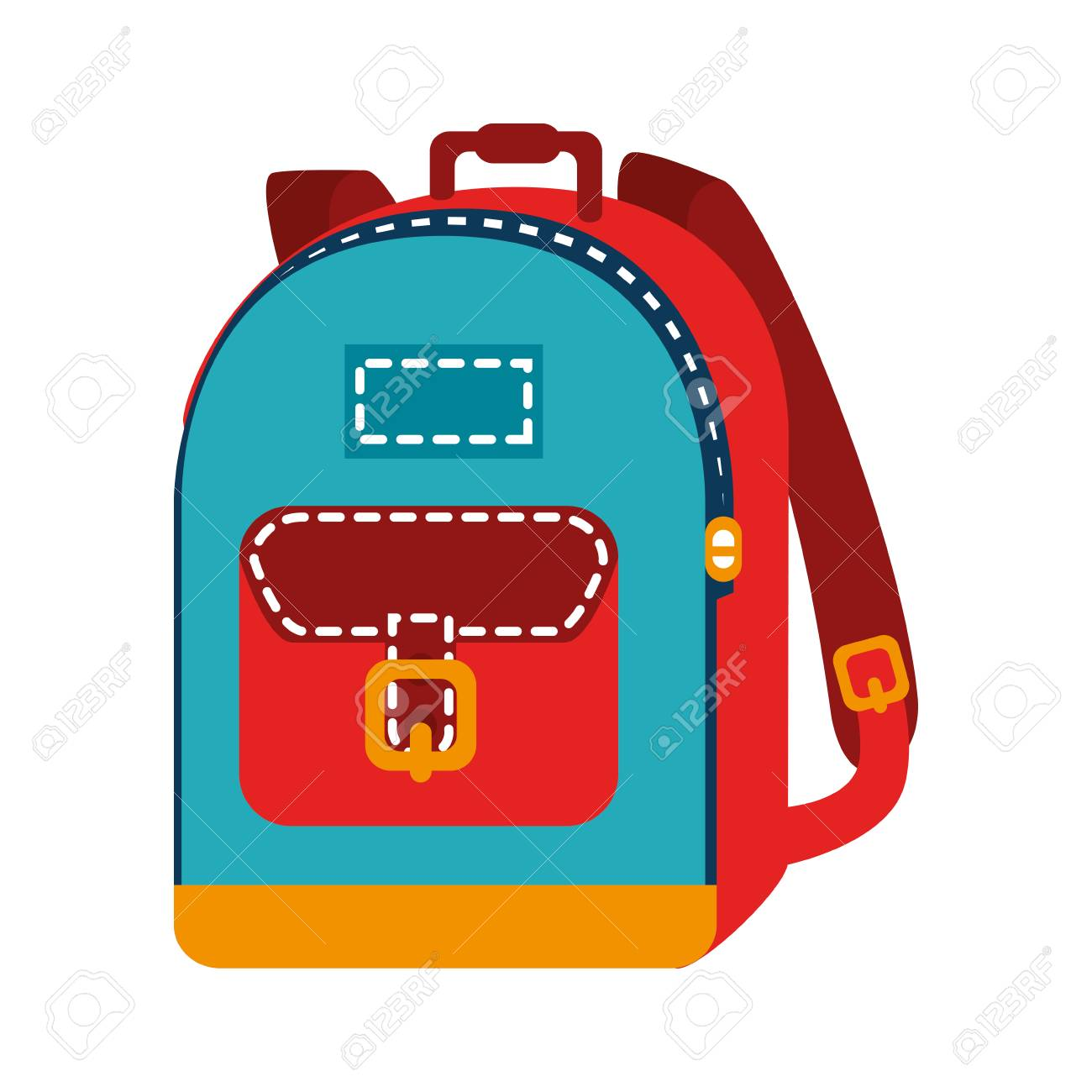 Backpack Bag School Royalty Free Cliparts Vectors And Stock Illustration Image 61958997