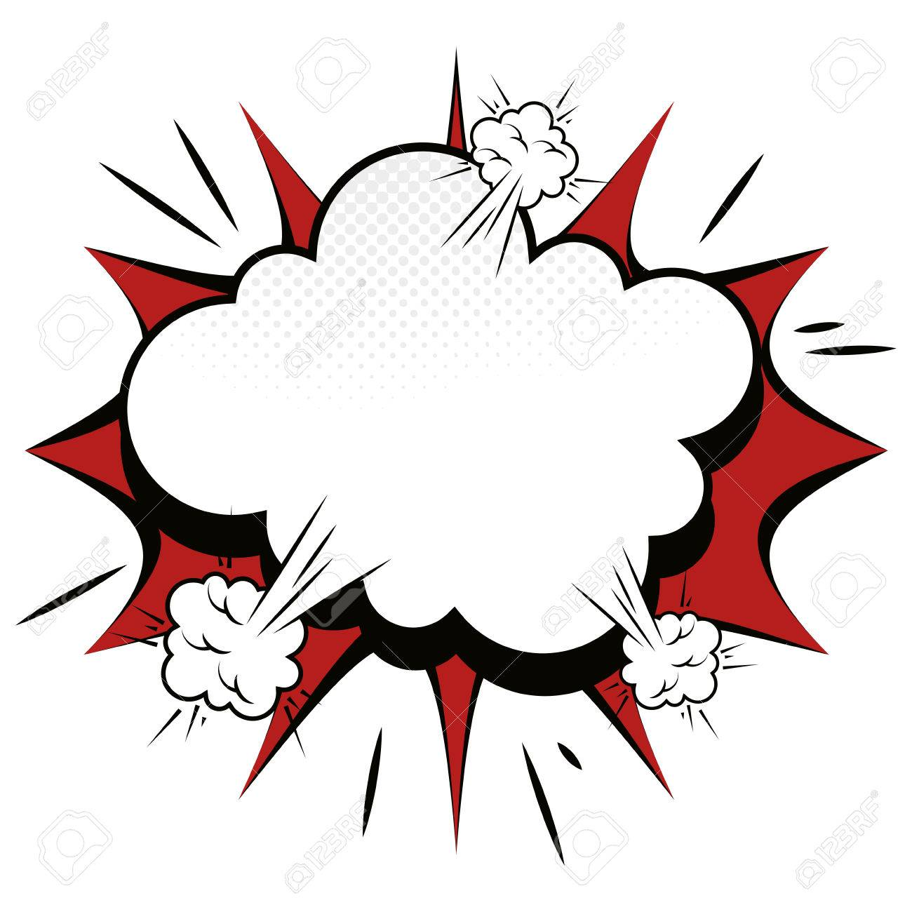 explosion comic pow expression bomb bam boom effect vector rh 123rf com vector explosion sign vector explosion after effects