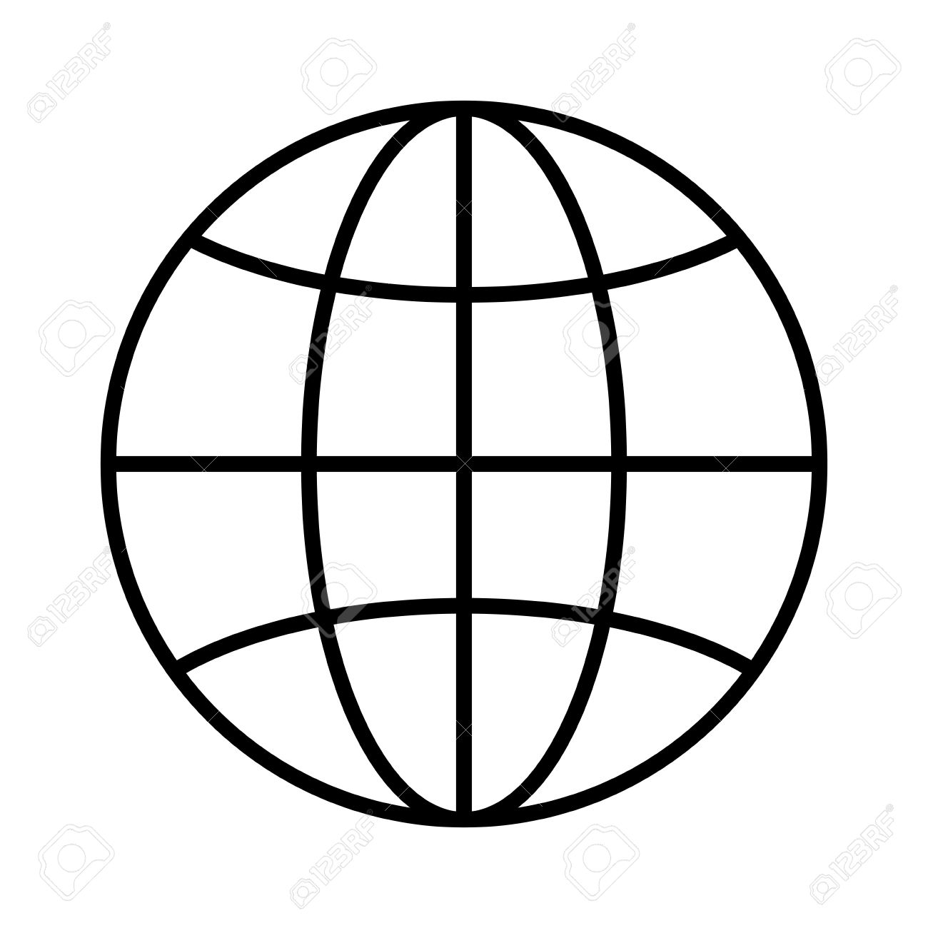 sphere global internet earth network connection vector illustration rh 123rf com vector sphere intersection vector sphere rc drone