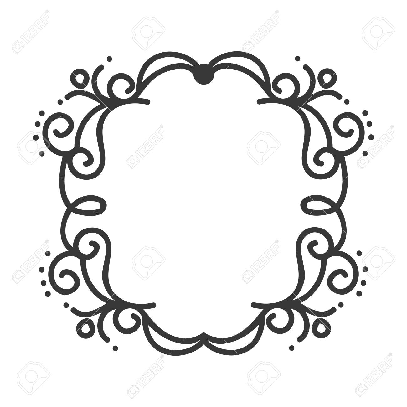 border frame victorian. Simple Victorian Vector  Victorian Vintage Elegant Border Frame Ornament Vector Illustration Intended Border Frame Victorian