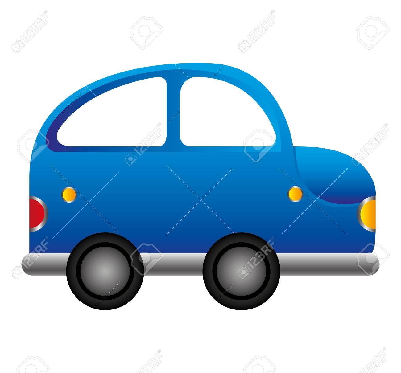 車車ビートル分離アイコン ベクトル イラスト デザインのイラスト素材