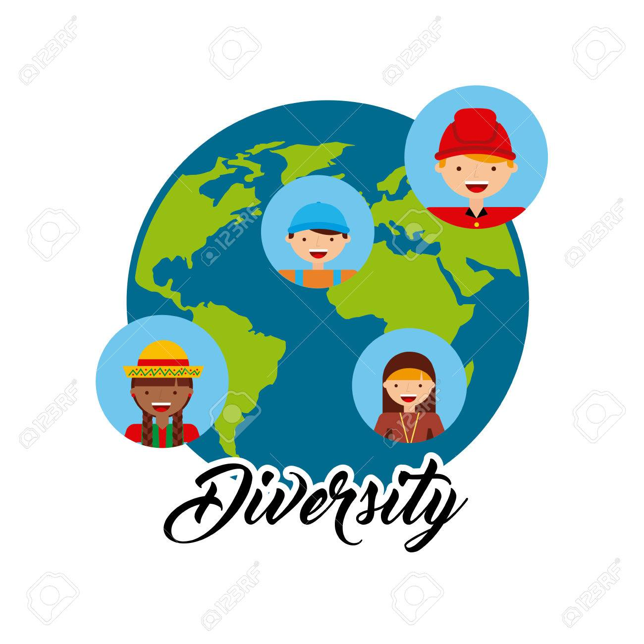 Diversity of world cultures vector illustration design royalty free diversity of world cultures vector illustration design stock vector 62576141 publicscrutiny Choice Image