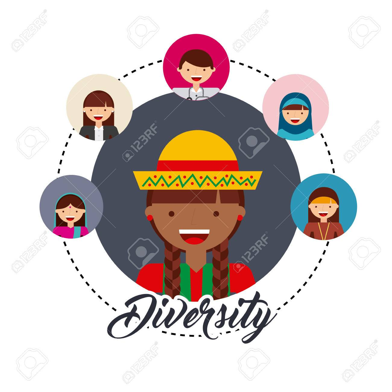 Diversity of world cultures vector illustration design royalty free diversity of world cultures vector illustration design stock vector 62576168 publicscrutiny Choice Image