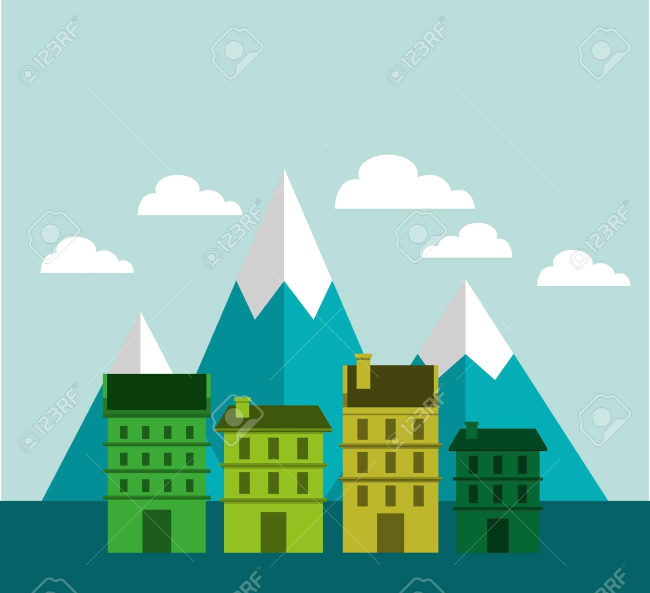 city green ecology cityscape vector illustration design royalty free rh 123rf com cityscape vector png cityscape vector eps