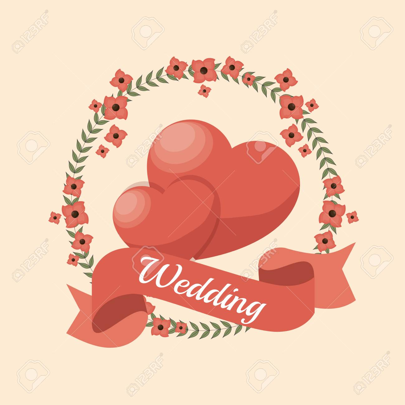 Amazing Wedding Invitation Vector Free Gallery - Invitations and ...