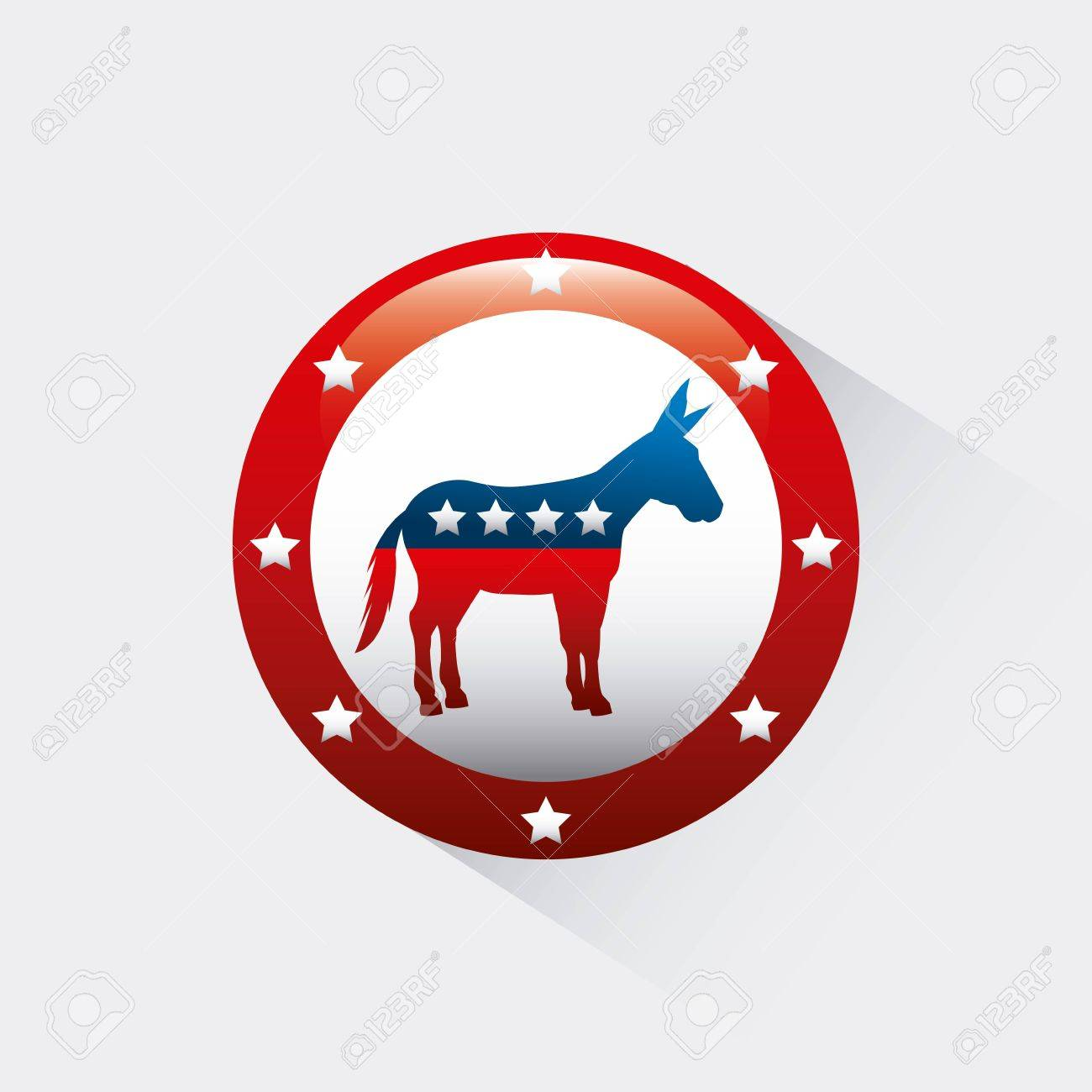 Democrat political party animal vector illustration design royalty democrat political party animal vector illustration design stock vector 64547357 biocorpaavc Image collections