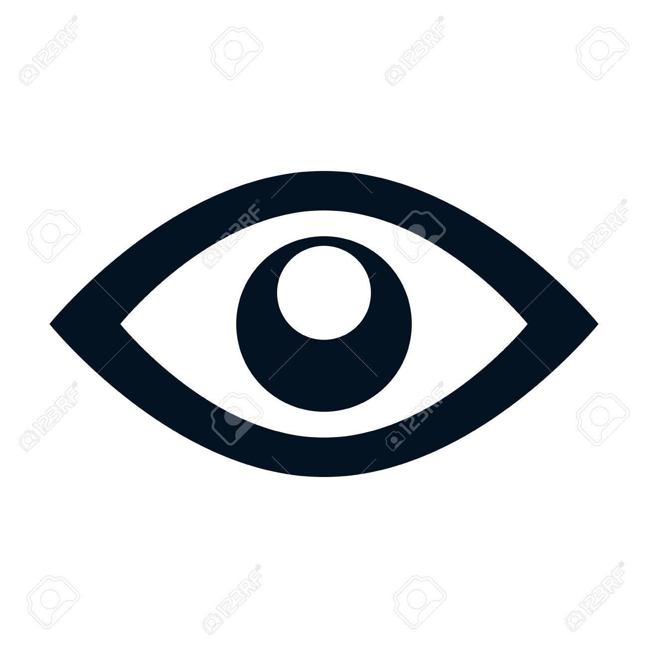 Eye Symbol Isolated Icon Vector Illustration Design Royalty Free