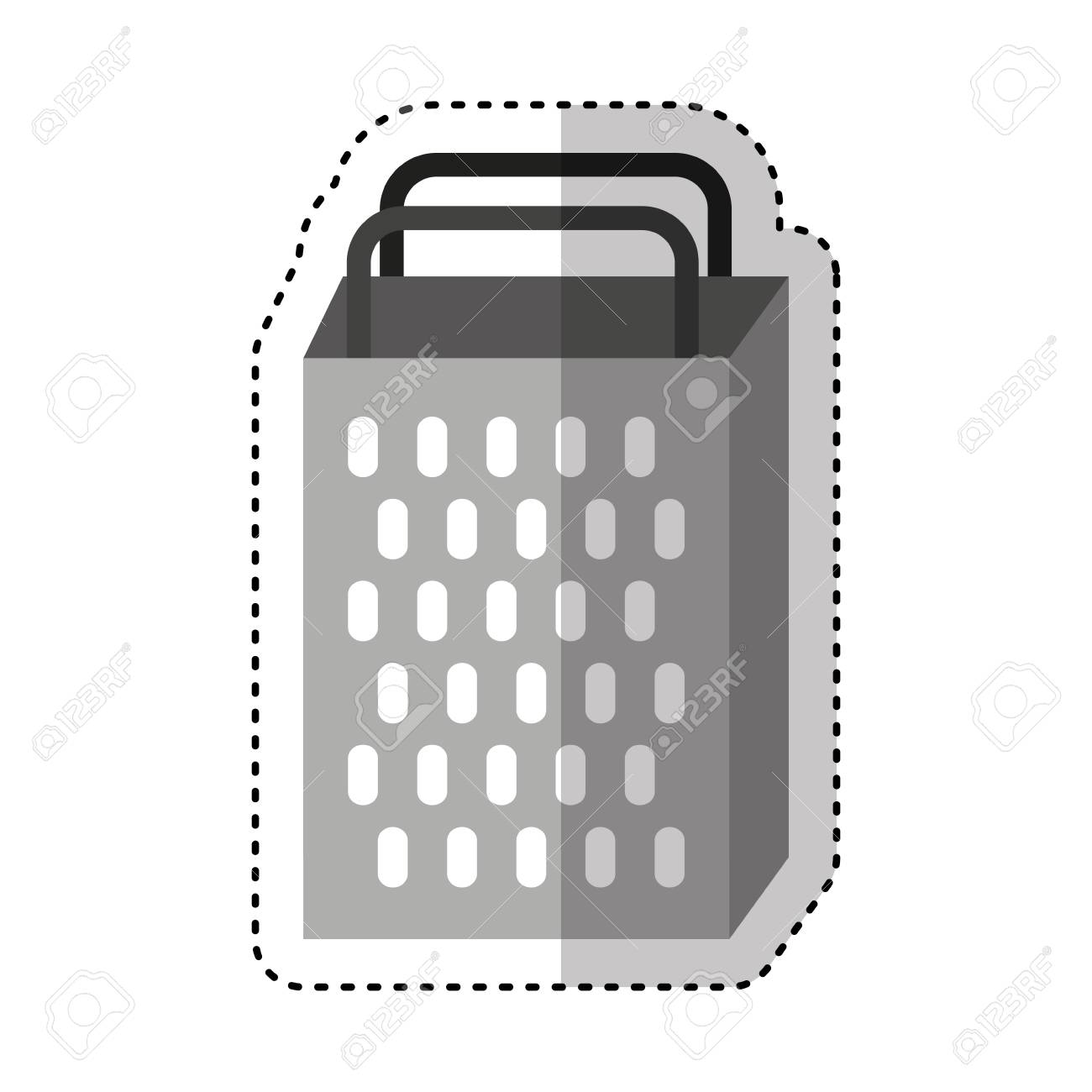 Kitchen Grater Isolated Icon Vector Illustration Design Stock Vector    67877416
