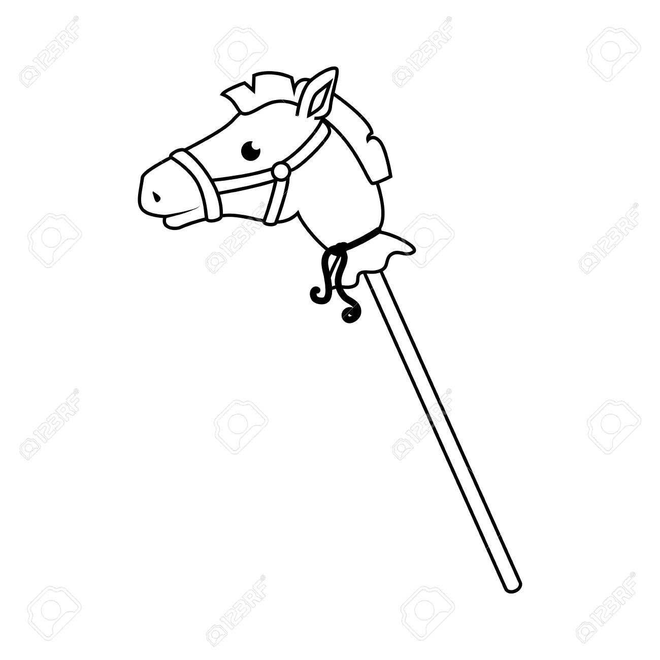 Horse Kids Toy Isolated Icon Vector Illustration Design Stock Photo Picture And Royalty Free Image Image 71268960