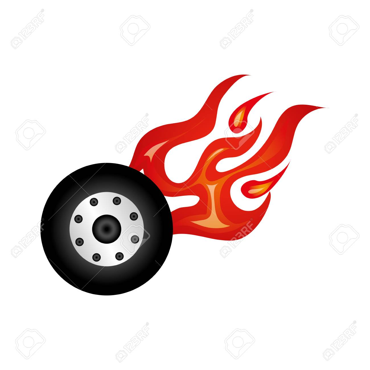 car wheel tire icon vector illustration design royalty free cliparts