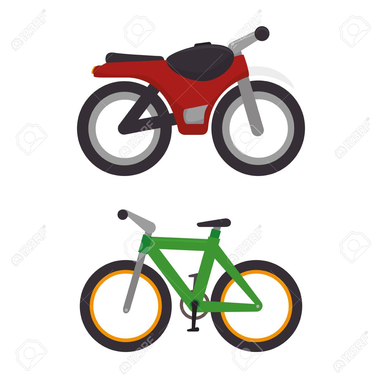 means of transport icons vector illustration design - 72505549