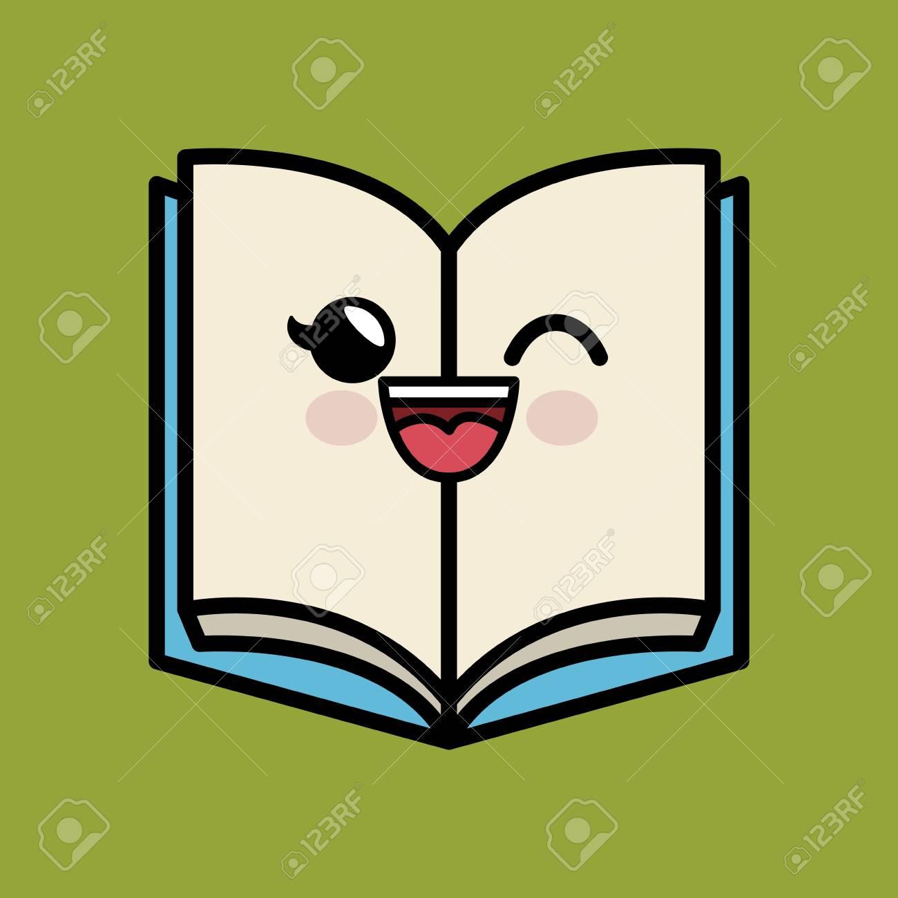 Caractere De Livre De Texte A La Main Dessin Illustration De Vecteur De Dessin