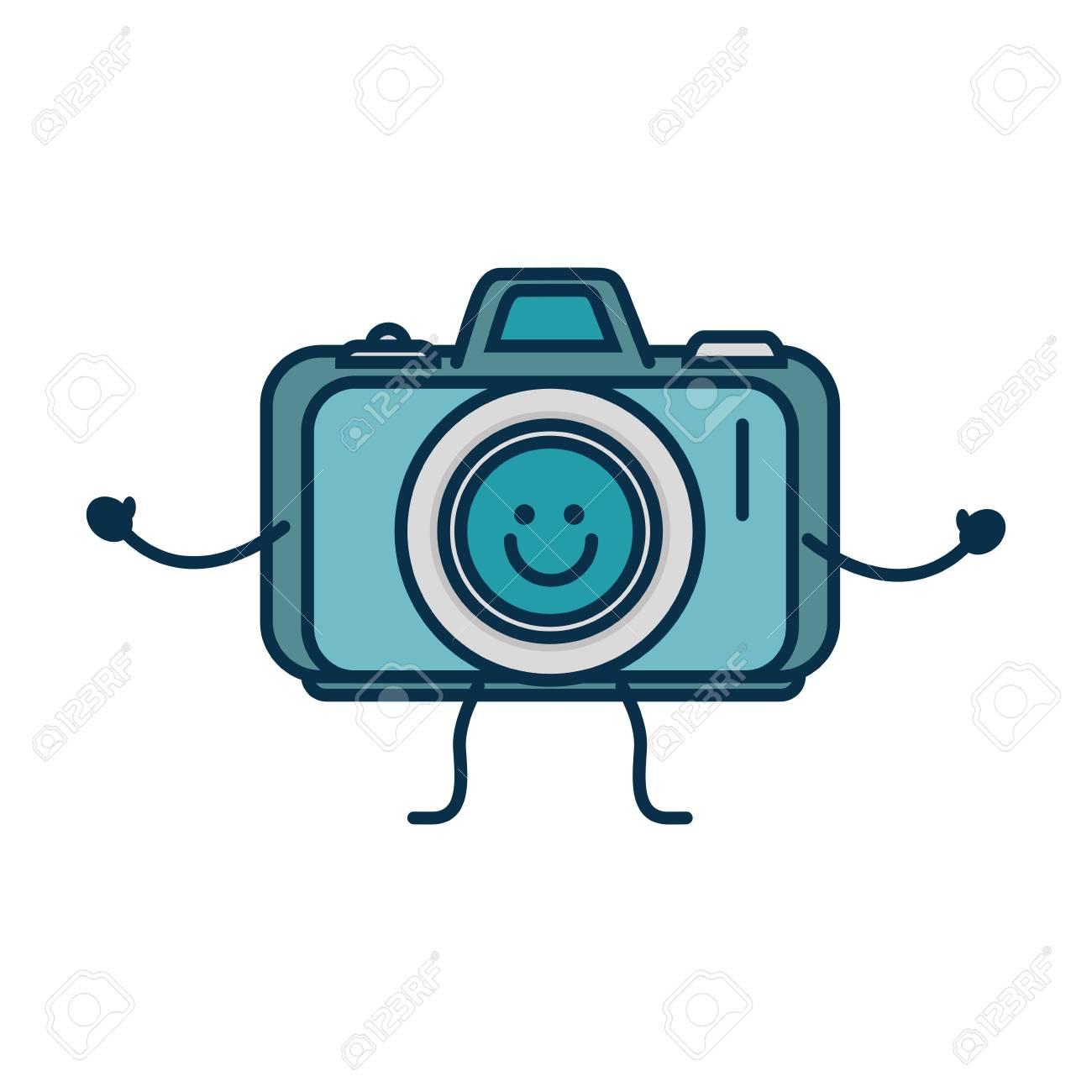 ビンテージ写真カメラ アイコン ベクトル イラスト グラフィック