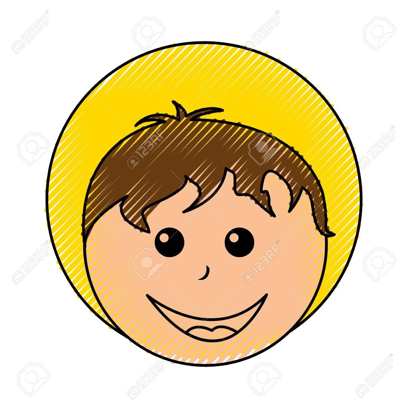 little jesus baby manger character vector illustration design