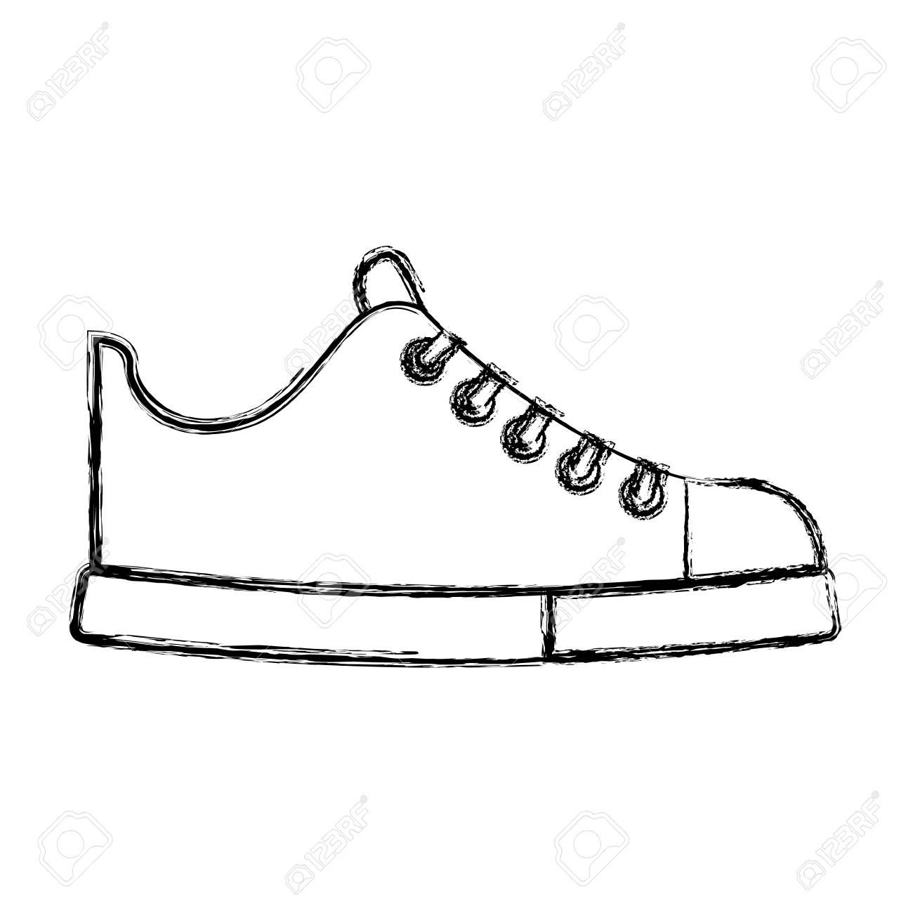 shoe sketch