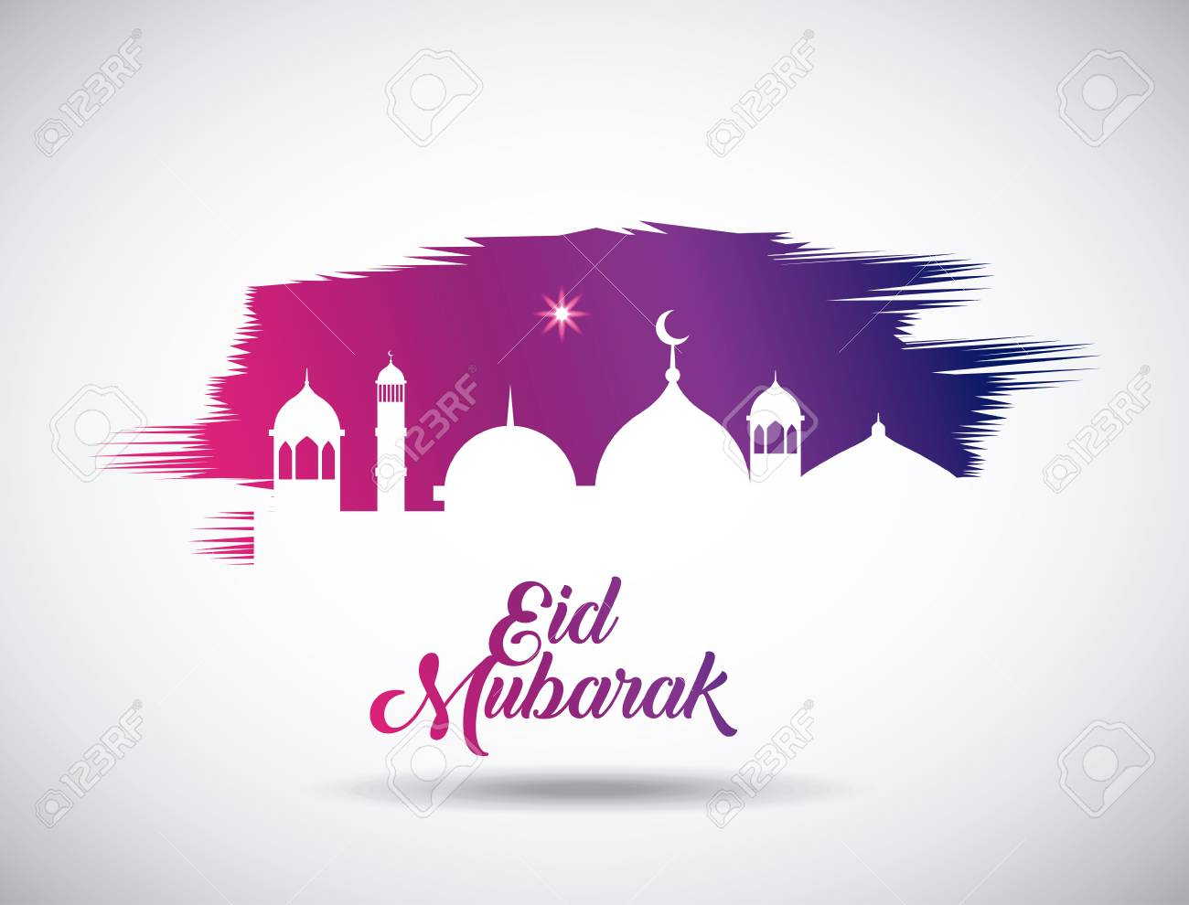 Eid Mubarak Background Icon Vector Illustration Design Graphic Royalty Free Cliparts Vectors And Stock Illustration Image 79266440
