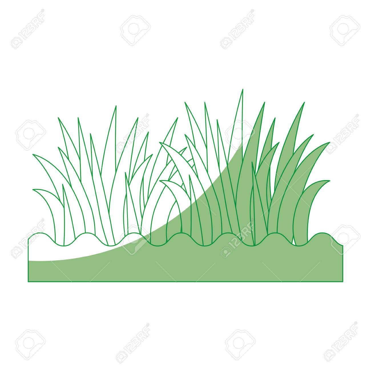 grass and ground icon vector illustration graphic design royalty rh 123rf com vector grass tutorial vector grasshopper