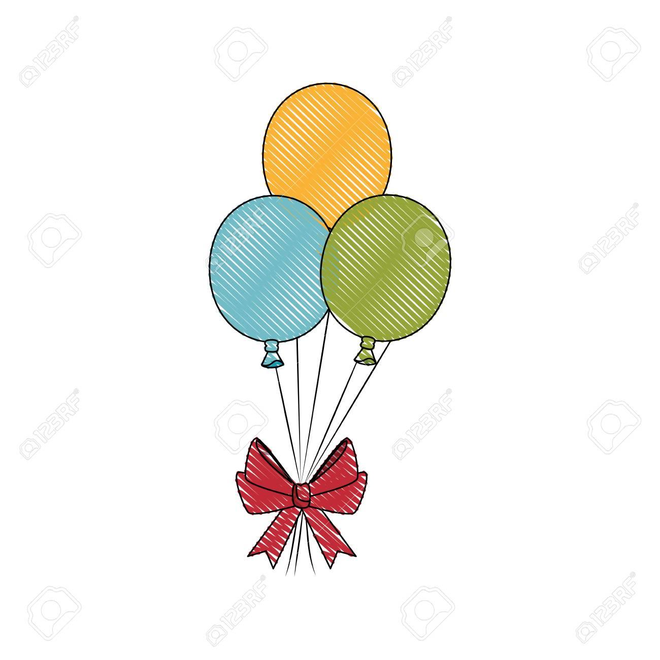 balloon bow globe vector illustration graphic design icon royalty rh 123rf com balloon graphic design balloon graphic art