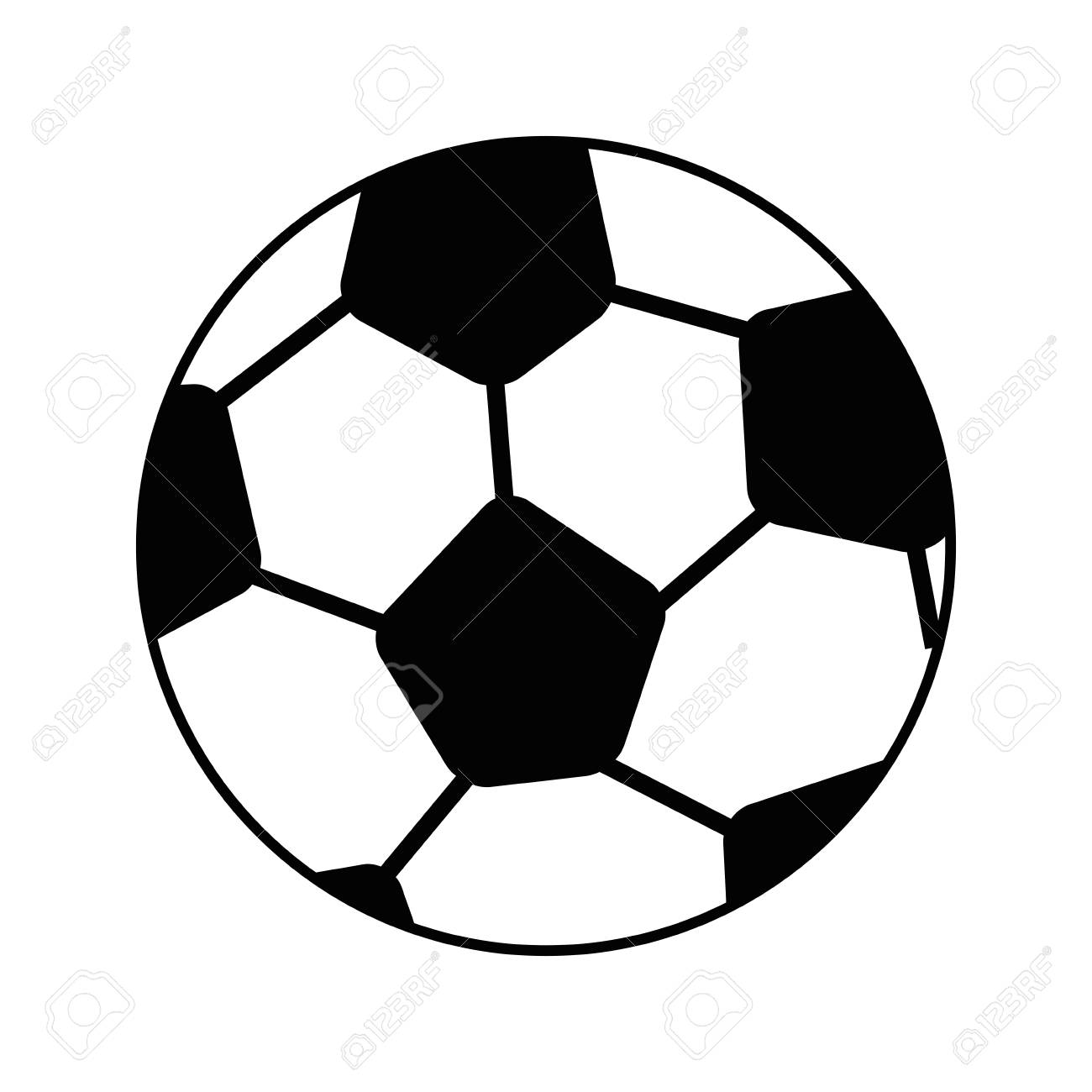 Image result for soccer ball cartoon
