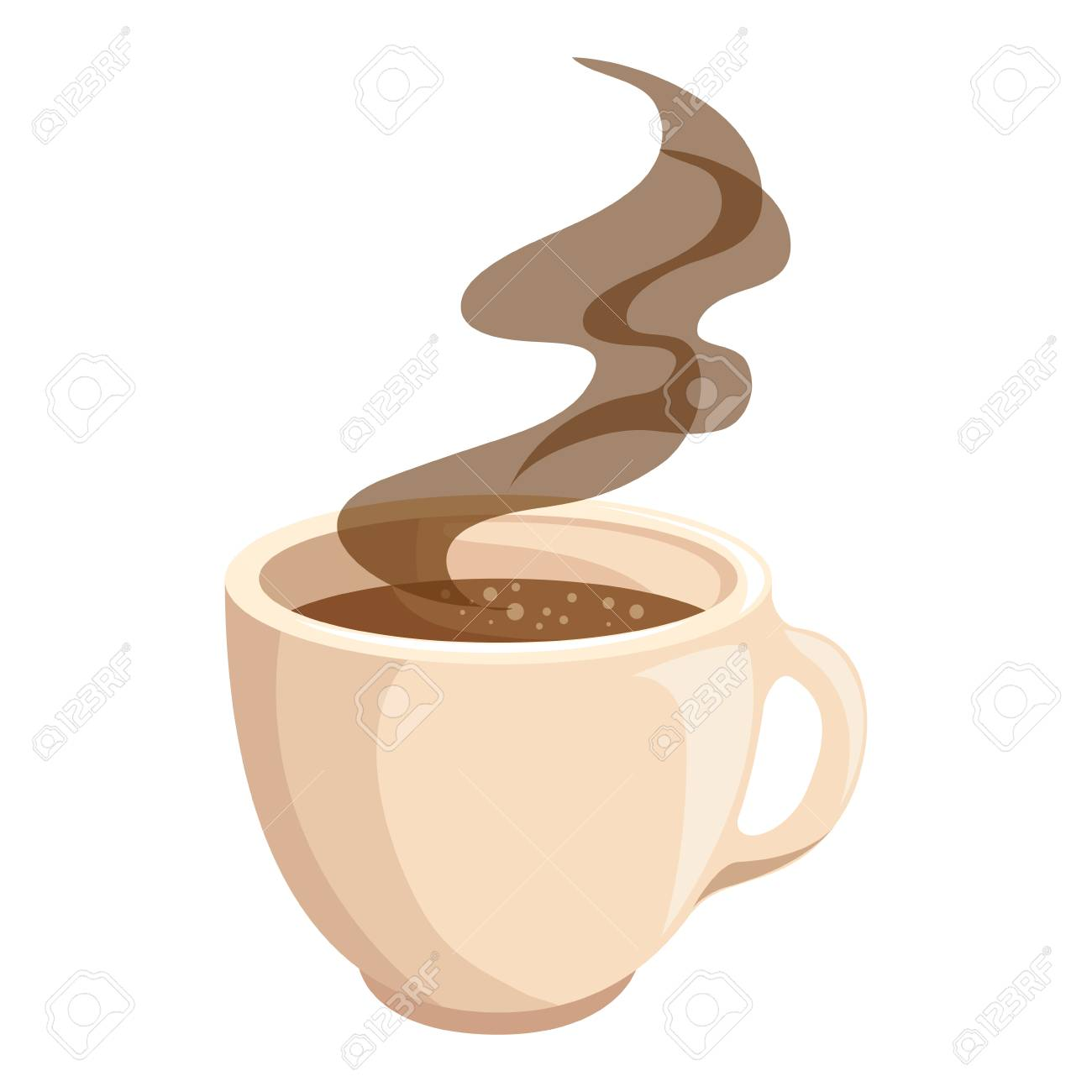 hot drink of chocolate icon vector illustration graphic design - 80722983