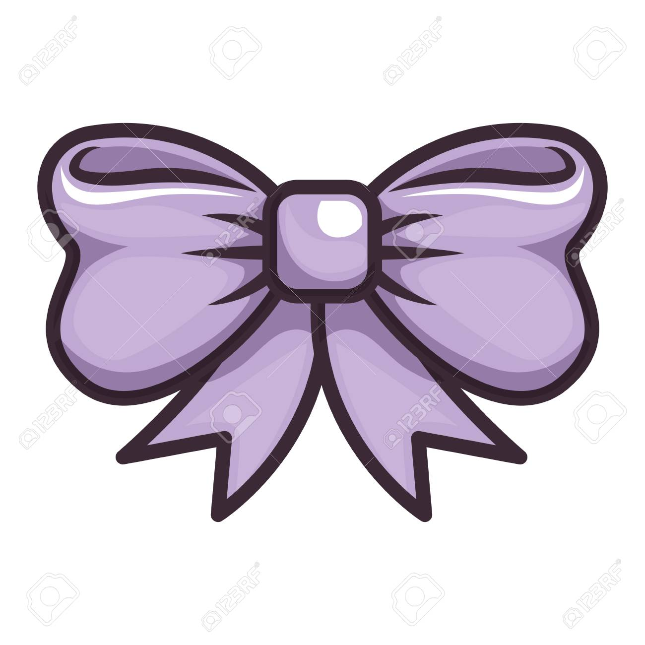 Isolated Cute Bow Icon Vector Illustration Graphic Design Royalty Free Cliparts Vectors And Stock Illustration Image 80726389