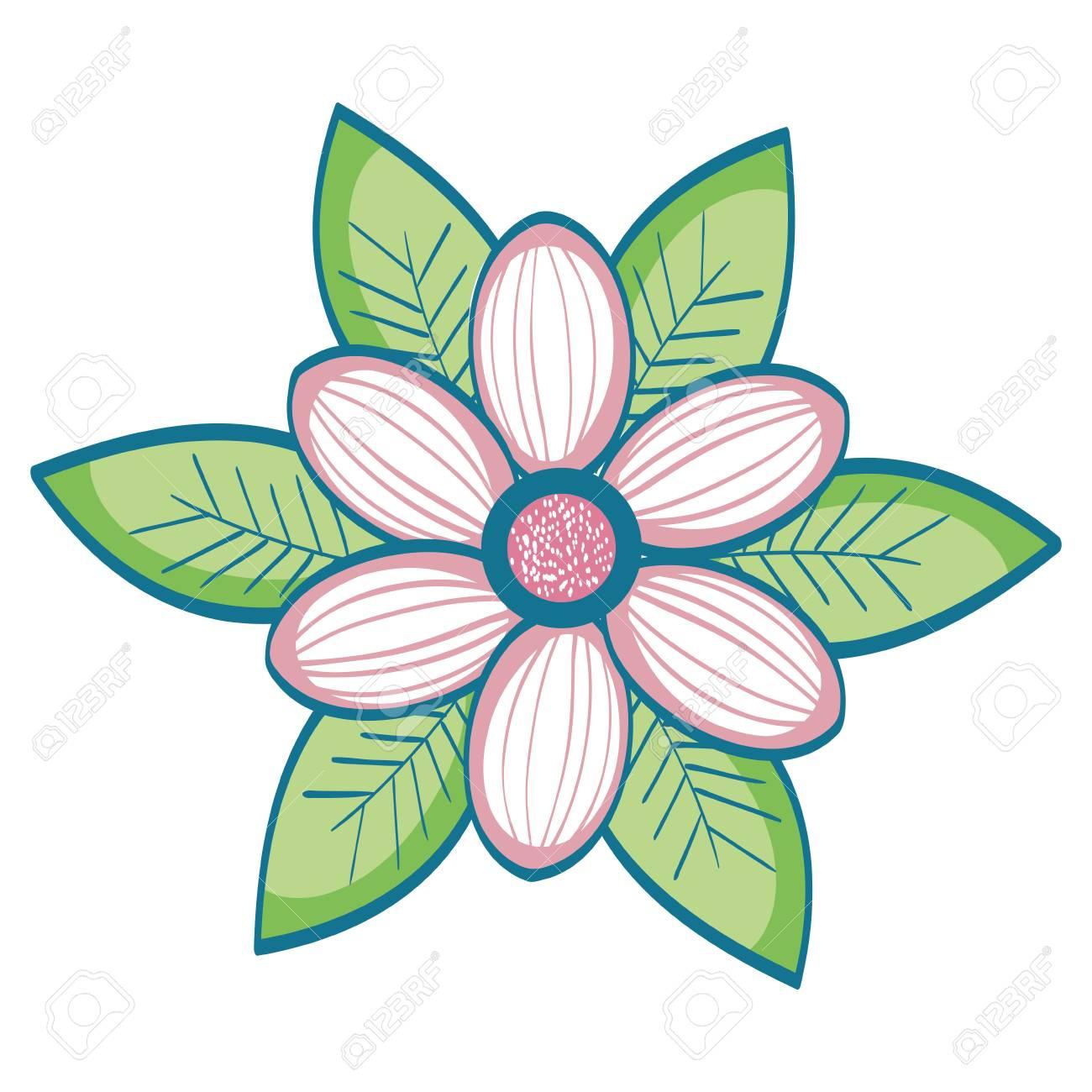 Naturals Flowers Tattoos Icon Vector Illustration Design Graphic