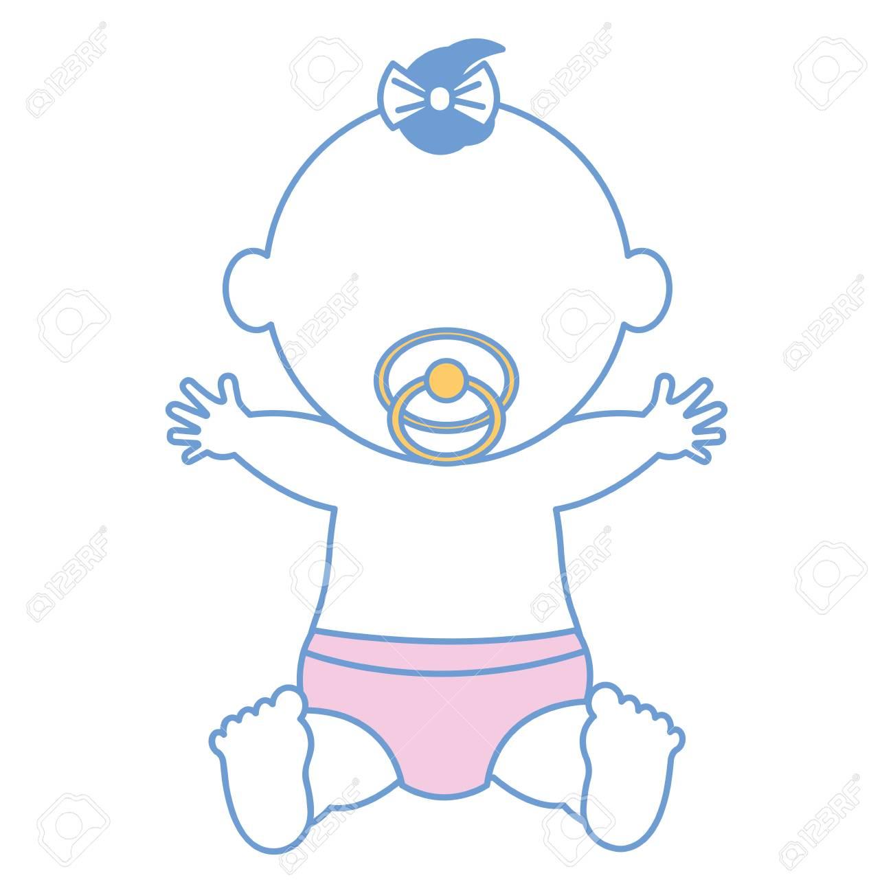 赤ちゃん服ハッピー アイコン ベクトル イラスト デザイン グラフィック