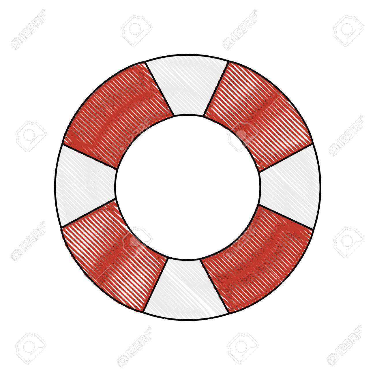 6f98d7251a47 safety float icon over white background colorful design vector illustration Stock  Vector - 80910832
