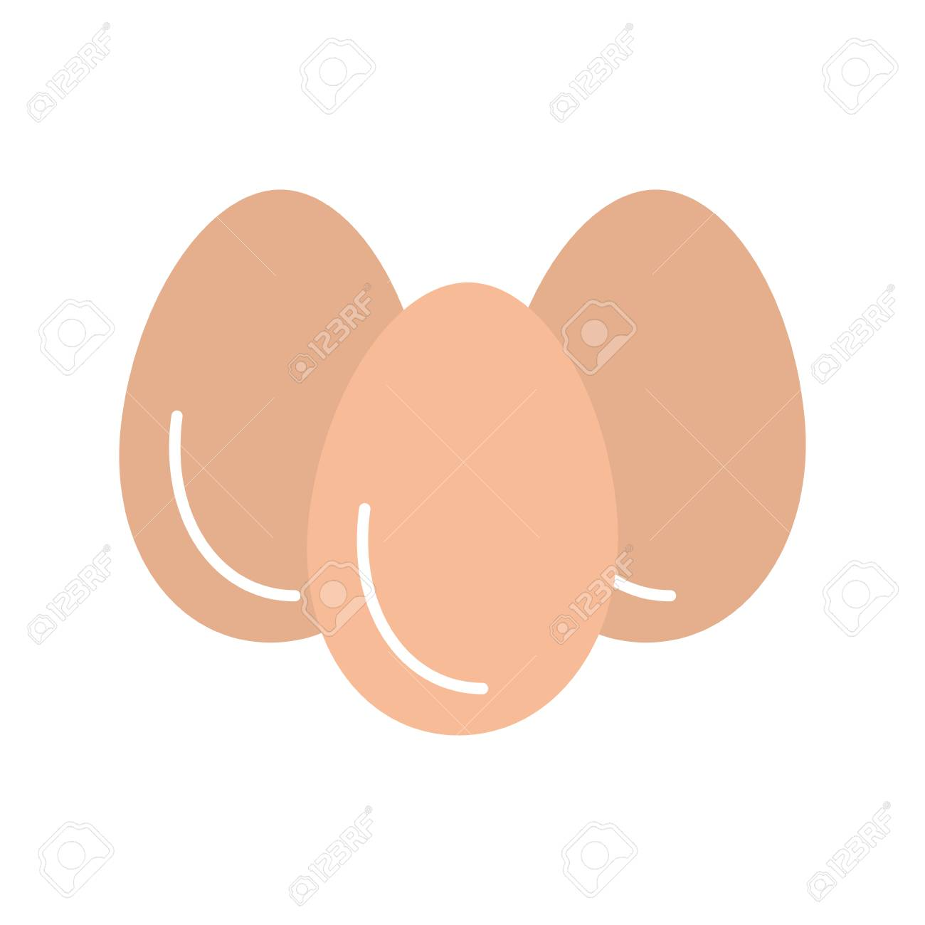 eggs vector illustration design - 81086114