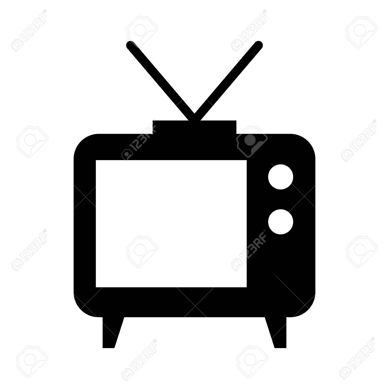 Big old television icon vector illustration design isolated - 81136743