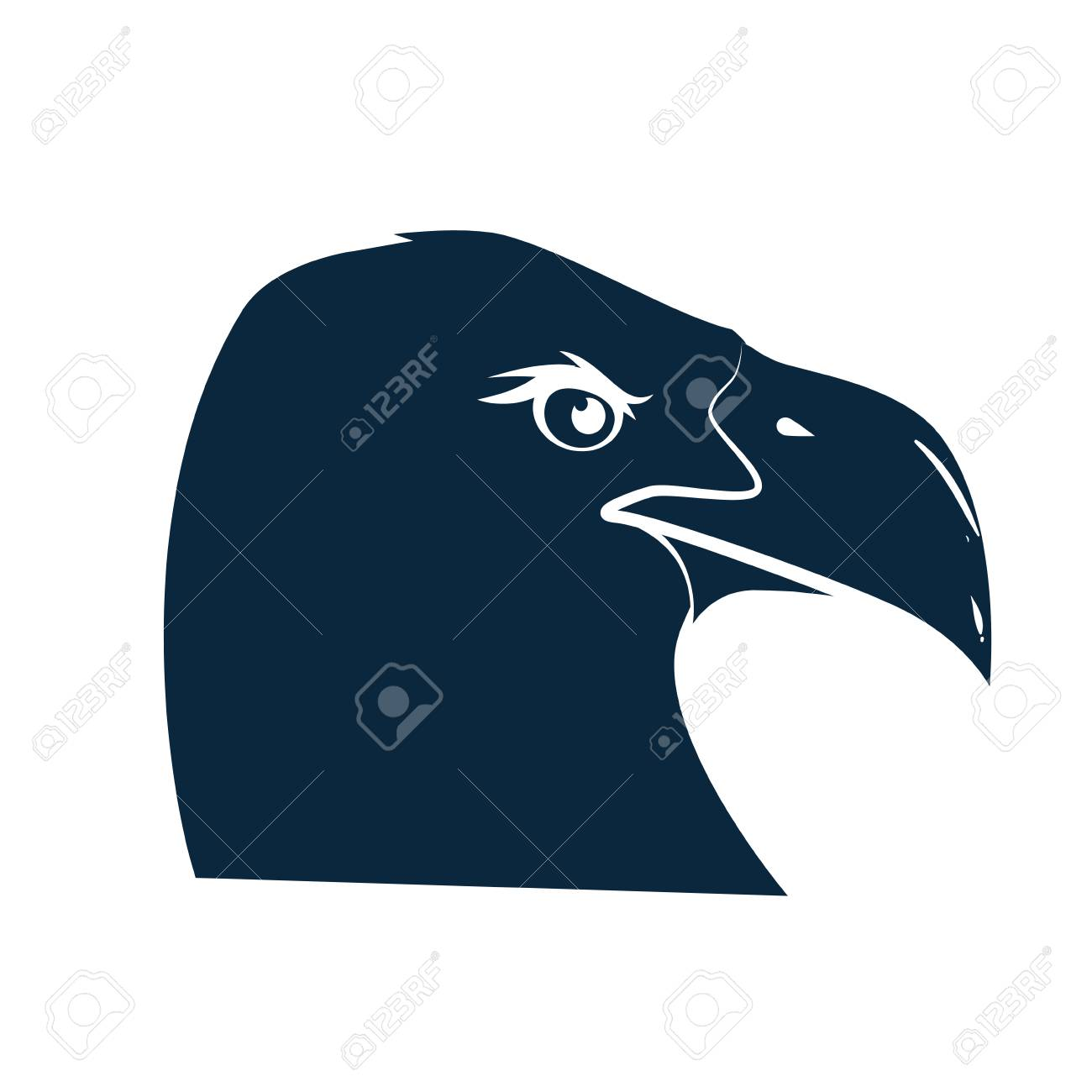 American Eagle Symbol Icon Vector Illustration Graphic Design