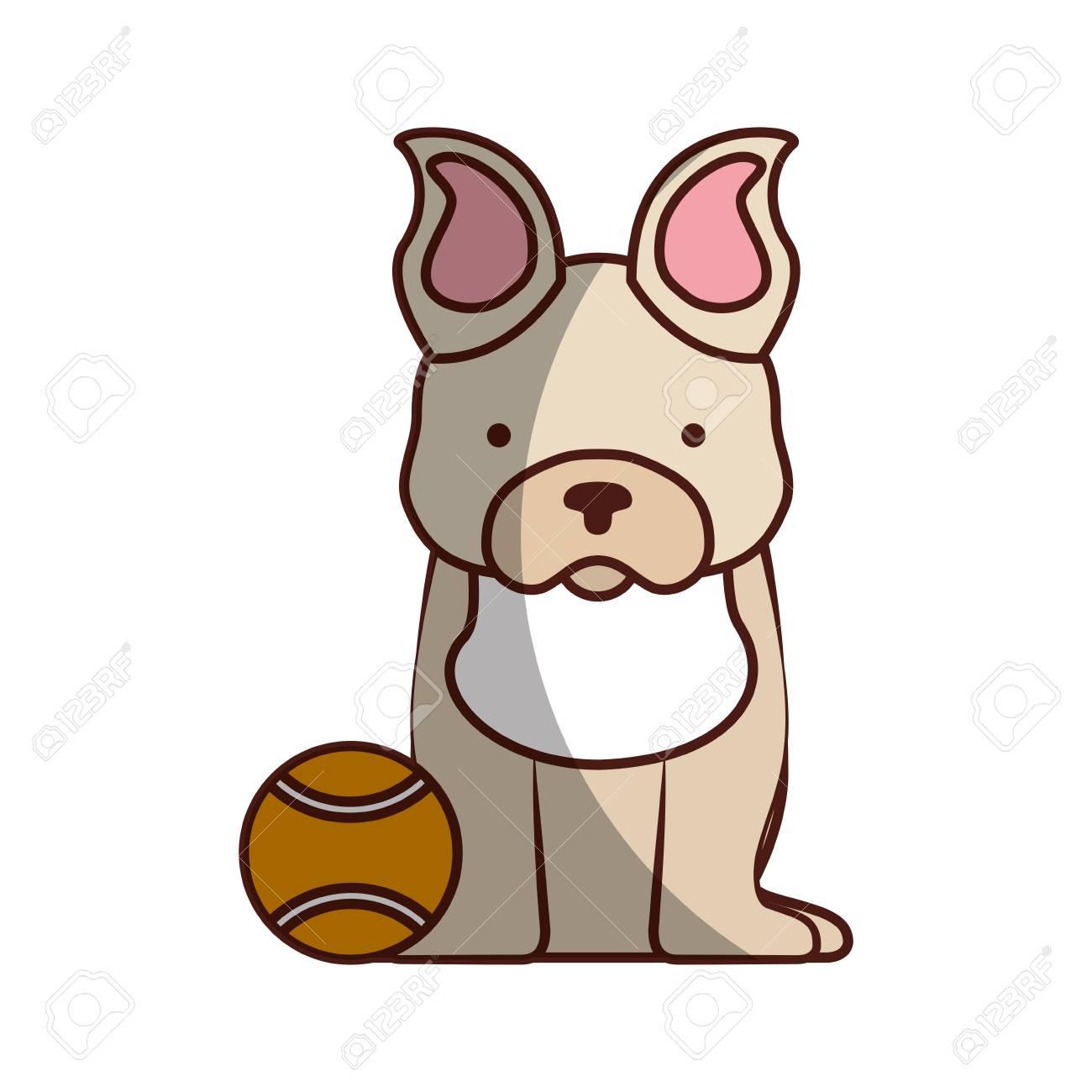 Best Bulldog Ball Adorable Dog - 81845204-cute-dog-mascot-with-tennis-ball-vector-illustration-design  Photograph_32525  .jpg